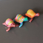 Tortue en raphia - Lot de 3