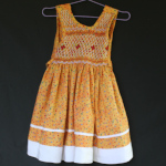 Robe à smocks, taille 2 ans