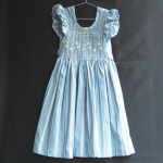 Robe à smocks, taille 4 ans